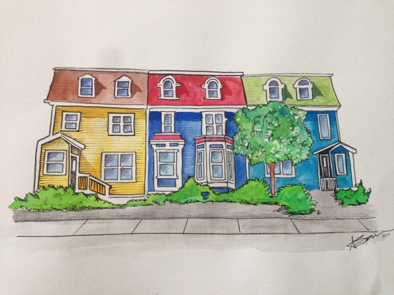 Watercolor House Finished